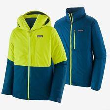 Patagonia Men's 3 in 1 Snowshot Ski Snowboard Jacket - New w/Tags - Men's Size M