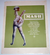 Robert Altman MASH original Kino Aushangfotos 9 Motive