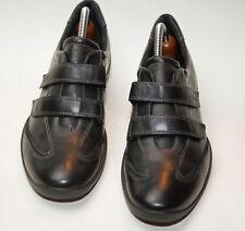 ECCO ♥ Loafer  ♥ Schuhe  2 x Klettverschl ♥ Gr. 41 ♥ *TOPst* ♥ schwarz ♥ Glattle