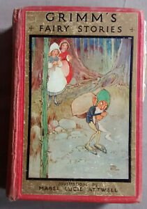 GRIMM'S FAIRY STORIES  Mabel Lucie Atwell illustratins..late 1920s