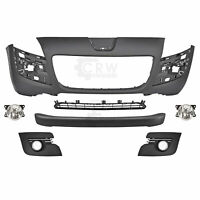 Set Bumper Front Primed+Fog + Accessories Peugeot 3008 Year 09-14