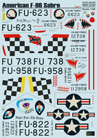 Print Scale 48-063 - 1/48 Decal for F-86 Sabre Mig Killer Part 1