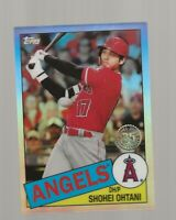 Z1) 2020 Topps Chrome Shohei Ohtani 35th Refractor SP Los Angeles Angels
