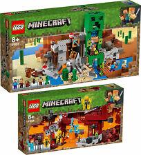 LEGO Minecraft 21155 21154 Die Creeper™ Mine Die Brücke Wither-Skelet  N8/19