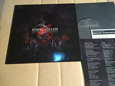 """EPHEL DUATH - ON DEATH AND COSMOS - 3-TRACK-10""""-EP - LIMITED EDITION - ARMLP018"""