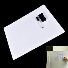 42X30cm Magnetic Fridge WritingBoard Removable Whiteboard Message Board/Memo Pad