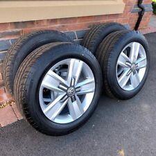 Volkswagen Transporter T5 T6 Highline Van Wheels Alloys Tyres Set Brand New