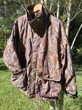 CLASSiC BROWNiNG mossy oak ORiGiNAL GORE TEX CAMOUFLAGE HUNTiNG COAT JACKET - L