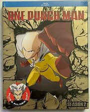 NEW ONE PUNCH MAN SEASON 2 BLU RAY 2 DISC SET + SLIPCOVER SLEEVE BUY NOW ANIME