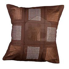 Checked 100% Cotton Decorative Cushions & Pillows