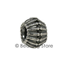 NEW Pandora Show Stopper Art Deco Black CZ Cubic Zirconia Silver Charm 790545CZK