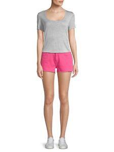 NWT- Current/Elliott The Boyfriend Cutoff Denim Shorts, Fandango Pink - Size 26