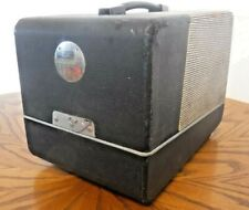 Vintage Wollensak Model-815 35mm Slide Projector with Case and Instructions