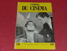 [REVUE LES CAHIERS DU CINEMA] N° 134 # AOUT 1962 BILLY WILDER EO 1rst Printing