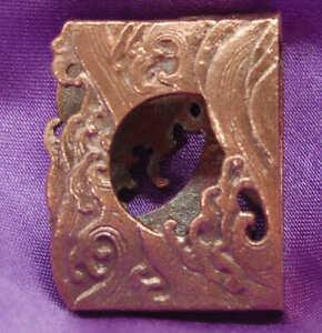 copper Habaki for japanese sword katana or wakizashi