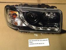 AUDI 80 TYPE B4 91-95 R8Look HEADLIGHT W/LED BLACK PASSENGER SIDE