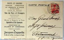 SUIZA HELVETIA entero postal tarjeta carta postal CA15