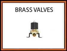 """3/8"""" npt Electric Solenoid Brass Air Valve for Train Horn and Fast Suspension"""