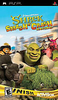 Shrek: Smash n' Crash Racing (Sony PSP, 2006) + Added Bonus