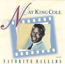 Favorite Ballads [Collectables] by Nat King Cole (CD)