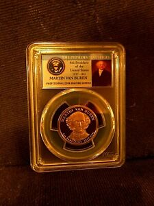 2008-S Martin Van Buren PCGS PR70DCAM Presidential Dollar Perfect! 99 Cent Bid!!