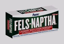 FELS NAPTHA Heavy Duty Laundry Soap 5.5 oz Bar Stain Remover Pre-Treating 04303
