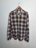 Vintage Levi's - Levi Strauss Modern Checked Shirt - Extra Large - XL - Pearl