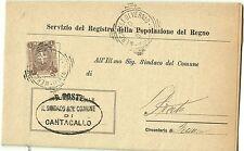 Z19924-TOSCANA, CANTAGALLO, TONDO RIQUADRATO PER PRATO, 1900
