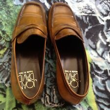 JOAN & DAVID LUXE Metalic Bronze low heel loafer shoes Sz 6 Free shipping