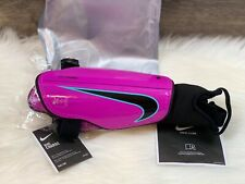 Nike Charge Youth Girls Pink & Black Guards Low Profile Sp2079-606 Size Medium