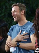 Chris Martin UNSIGNED photo - K7322 - Lead singer of the rock band Coldplay