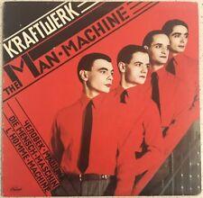 Kraftwerk The Man • Machine - 1978 Vinyl LP Capitol Records - SW 11728
