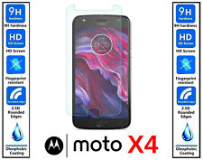 3x Genuine 100% Ultra HD TEMPERED GLASS Screen Protector Cover For Moto X4