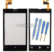 For Nokia Lumia 520 Digitizer Touch Screen Front Glass Lens Replacement Black UK