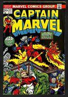 Captain Marvel #27, FN- 5.5, Thanos, Infinity War/Endgame