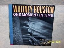 NM *** WHITNEY HOUSTON --- ONE MOMENT IN TIME