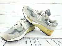 New Balance Womens 992 Running Shoes Gray Suede Made In USA Size 8 B W992GL