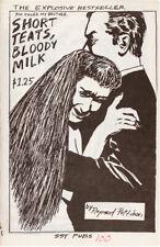 Raymond PETTIBON / Short Teats Bloody Milk First Edition 1983