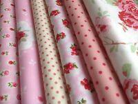 12 piece Bundle New 100% Cotton Floral Fabric, incl Cath Kidston (CODE A16)