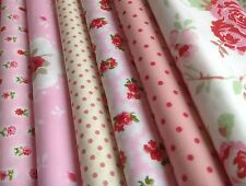 12 piece Bundle New 100% Cotton Floral Fabric, incl Cath Kidston (CODE A16)