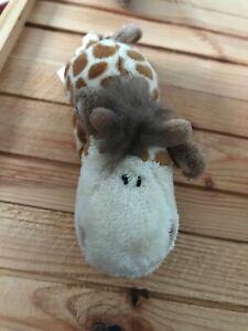 Nici giraffe small soft toy