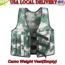 Weighted Vest Adjustable Jacket Boxing Training Waistcoat Max Loading 10kg