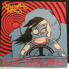 """Senseless Things – Is It Too Late?  12""""  EP 1990   Decoy – DYL16"""