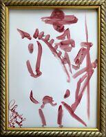 Original Margarita Bonke Malerei don quijote don quixote bild art painting kunst