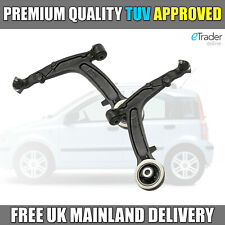 Fiat Panda Front Lower Wishbones Suspension Arms 2003-2012 Wishbone x2 NEW PAIR