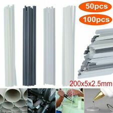 50/100Pcs Plastic Welding Rods Abs/Pp/Pvc/Pe Welding Sticks Strips Welder