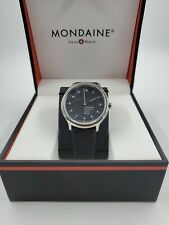 STORE DISPLAY Mondaine Helvetica No1 Watch MH1.R2220.LB Swiss NO RESERVE $435