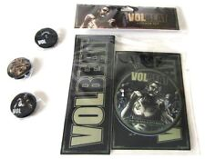Volbeat Seal The Deal Let's Boogie 6 Piece Sticker Button Pin Set New Official