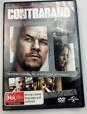 Contraband Mark Wahlberg DVD R4 PAL MA15+ with free shipping and Tracking