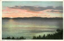 Champlain New York~Detroit Publishing #8347 Sunrise at Hotel Champlain~1911